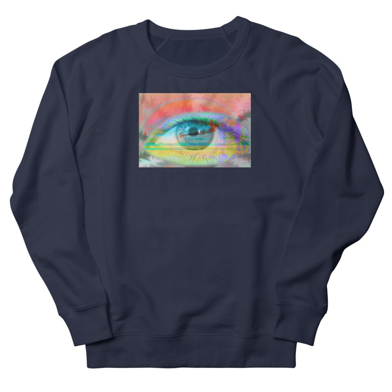 Twilight Eye: Part of the Eye Series Men's French Terry Sweatshirt by InspiredPsychedelics's Artist Shop
