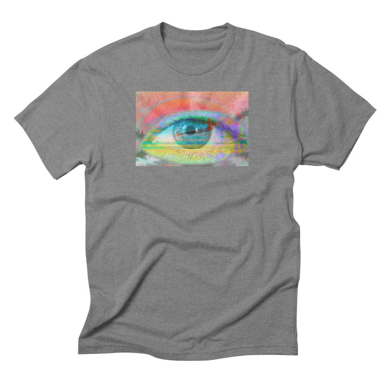 Twilight Eye: Part of the Eye Series Men's Triblend T-Shirt by InspiredPsychedelics's Artist Shop