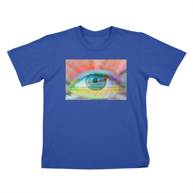 Twilight Eye: Part of the Eye Series Kids T-Shirt by InspiredPsychedelics's Artist Shop