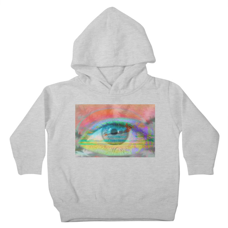 Twilight Eye: Part of the Eye Series Kids Toddler Pullover Hoody by InspiredPsychedelics's Artist Shop