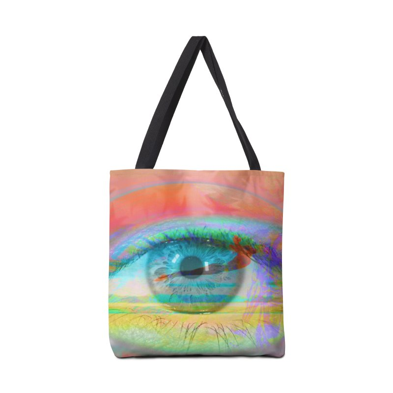 Twilight Eye: Part of the Eye Series Accessories Bag by InspiredPsychedelics's Artist Shop