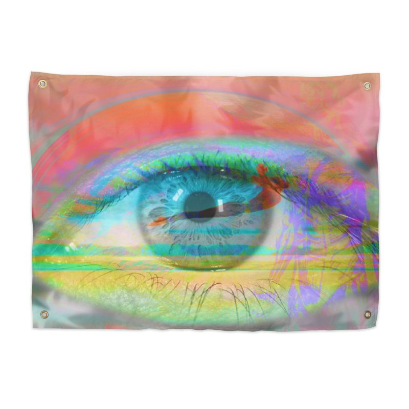 Twilight Eye: Part of the Eye Series Home Tapestry by InspiredPsychedelics's Artist Shop