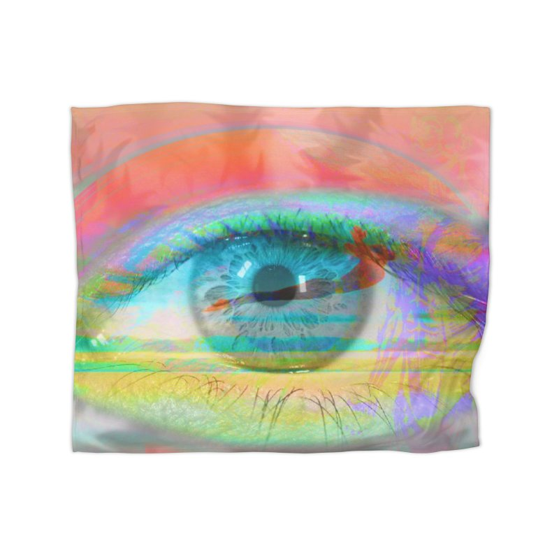 Twilight Eye: Part of the Eye Series Home Blanket by InspiredPsychedelics's Artist Shop