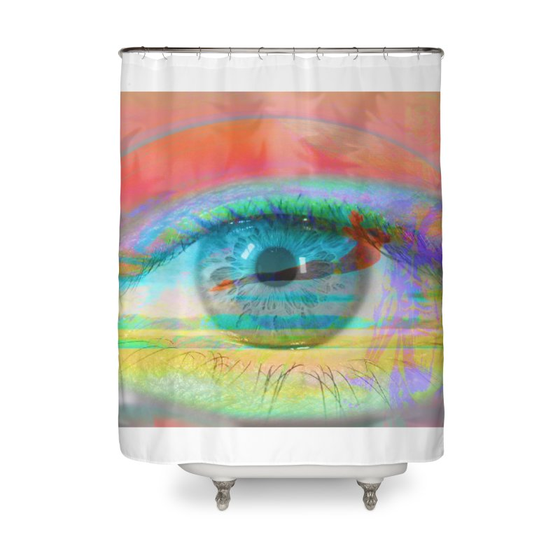 Twilight Eye: Part of the Eye Series Home Shower Curtain by InspiredPsychedelics's Artist Shop