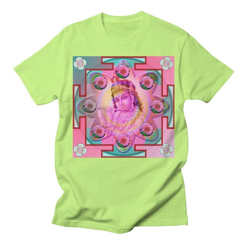 Krishna Mandala Women's Unisex T-Shirt by InspiredPsychedelics's Artist Shop