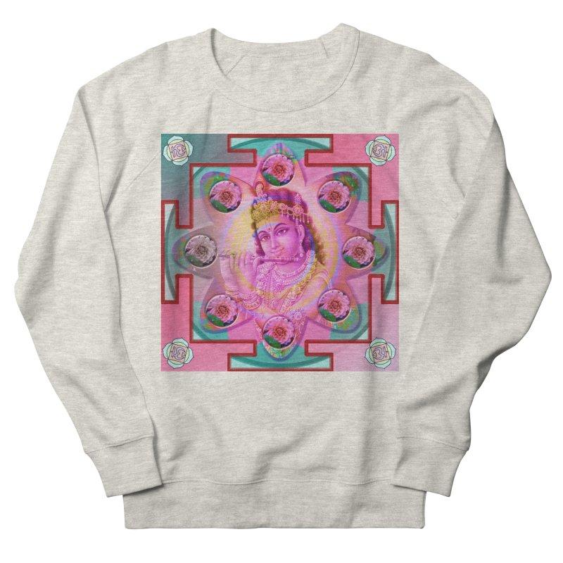 Krishna Mandala Women's French Terry Sweatshirt by InspiredPsychedelics's Artist Shop