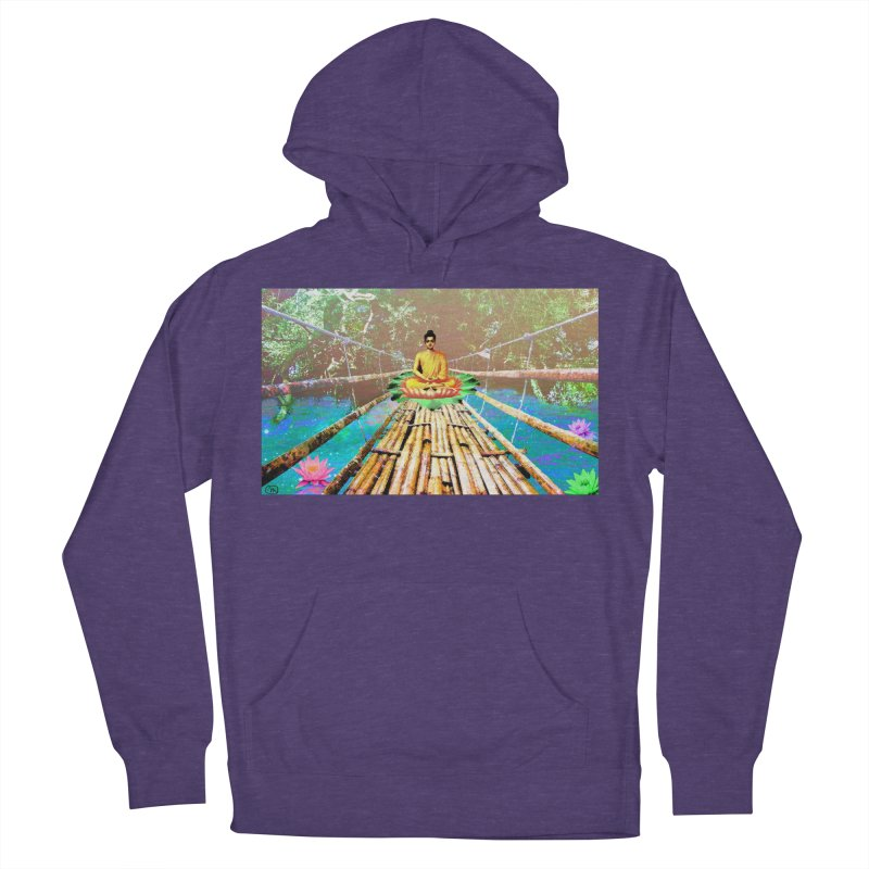 A Bridge to Buddha Women's French Terry Pullover Hoody by InspiredPsychedelics's Artist Shop