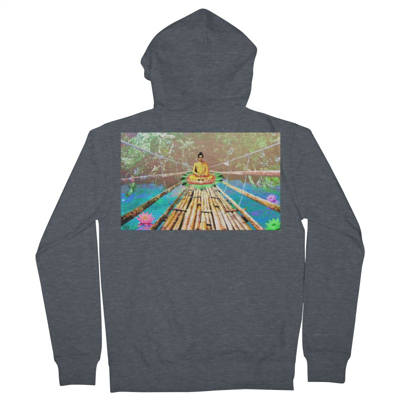 A Bridge to Buddha Women's Zip-Up Hoody by InspiredPsychedelics's Artist Shop