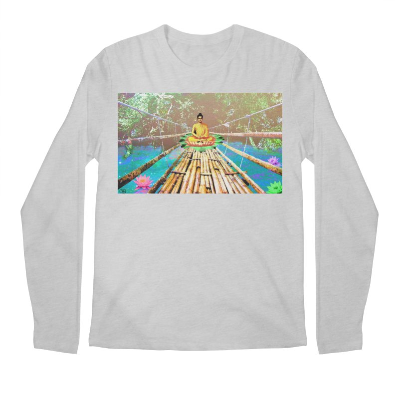 A Bridge to Buddha Men's Longsleeve T-Shirt by InspiredPsychedelics's Artist Shop