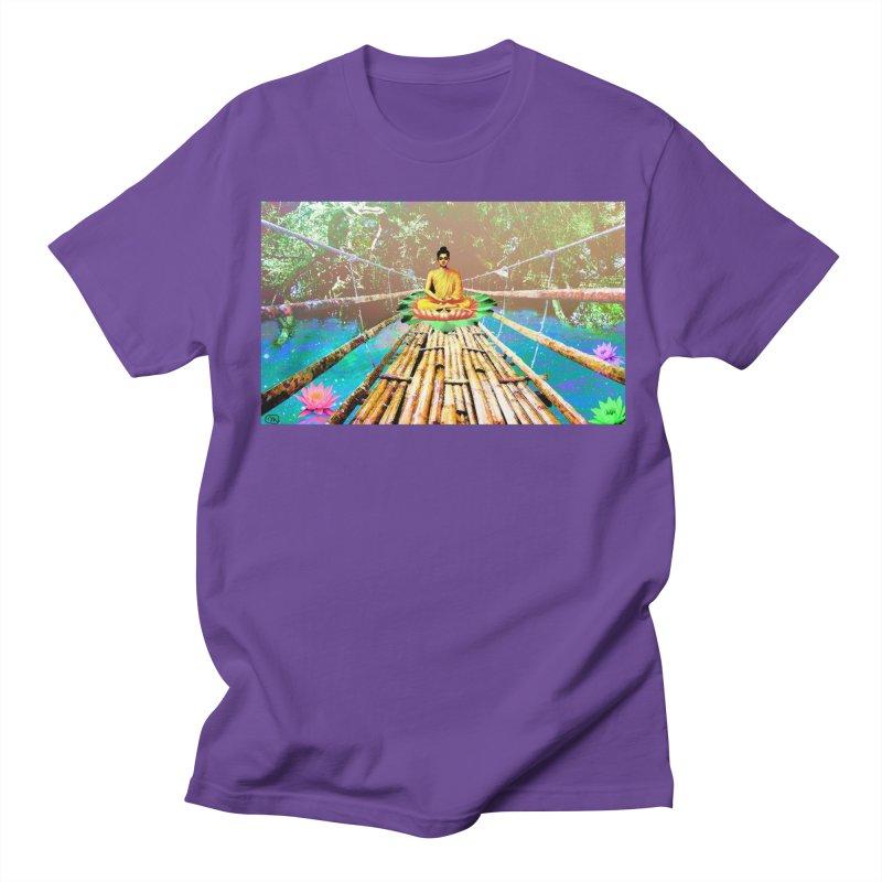 A Bridge to Buddha Women's Regular Unisex T-Shirt by InspiredPsychedelics's Artist Shop