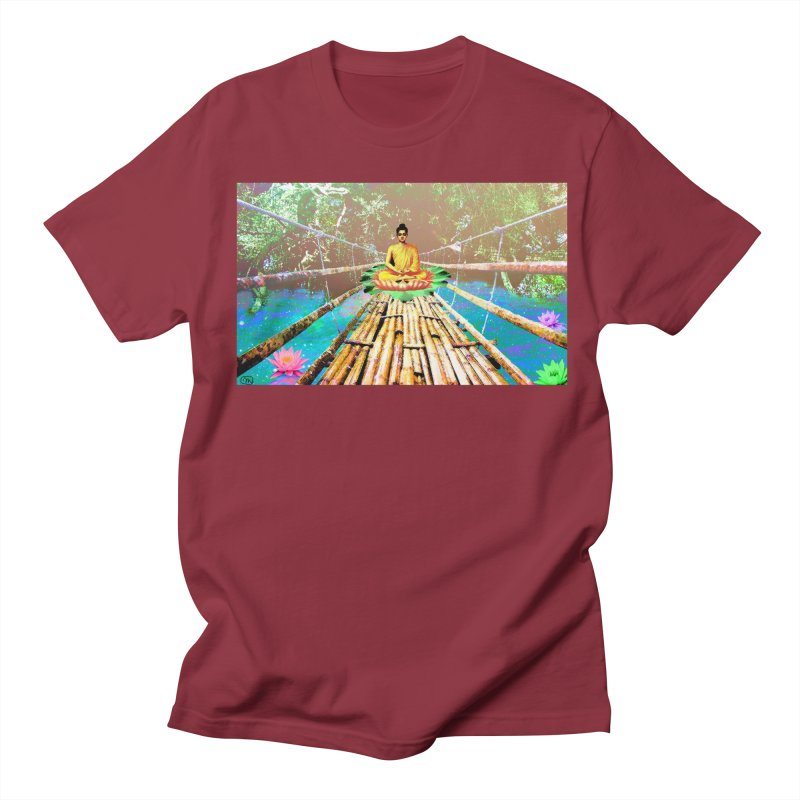 A Bridge to Buddha Men's T-Shirt by InspiredPsychedelics's Artist Shop