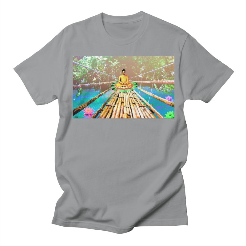 A Bridge to Buddha Men's Regular T-Shirt by InspiredPsychedelics's Artist Shop