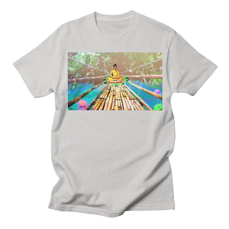 A Bridge to Buddha Men's Regular T-Shirt by InspiredPsychedelics's Artist Shop