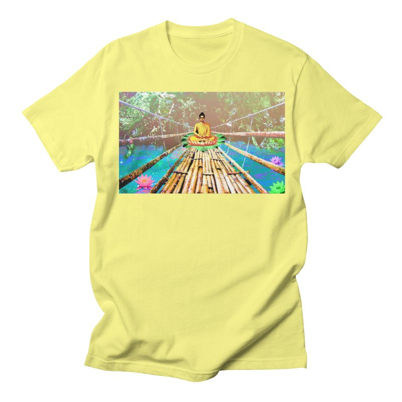 A Bridge to Buddha Women's Unisex T-Shirt by InspiredPsychedelics's Artist Shop