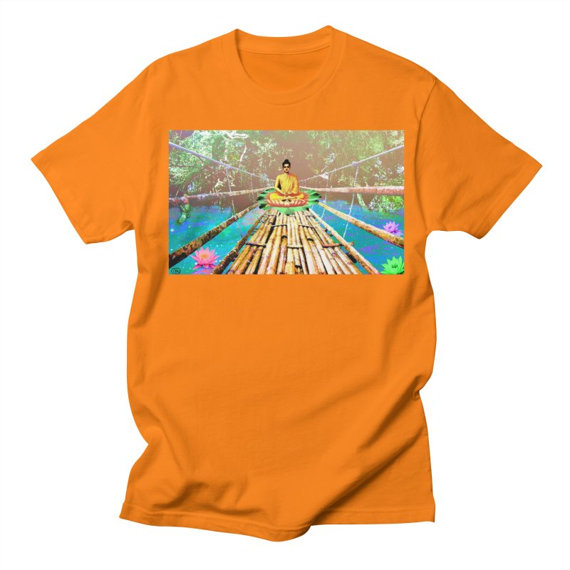 A Bridge to Buddha Women's Regular Unisex T-Shirt by InspiredPsychedelics's Artist Shop