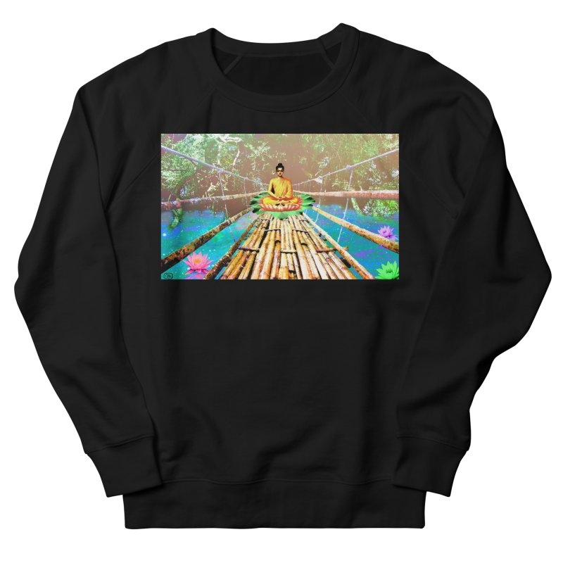 A Bridge to Buddha Women's Sweatshirt by InspiredPsychedelics's Artist Shop