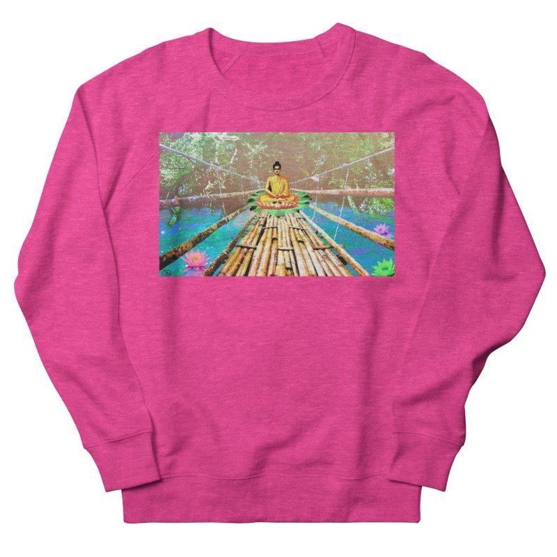 A Bridge to Buddha Men's Sweatshirt by InspiredPsychedelics's Artist Shop