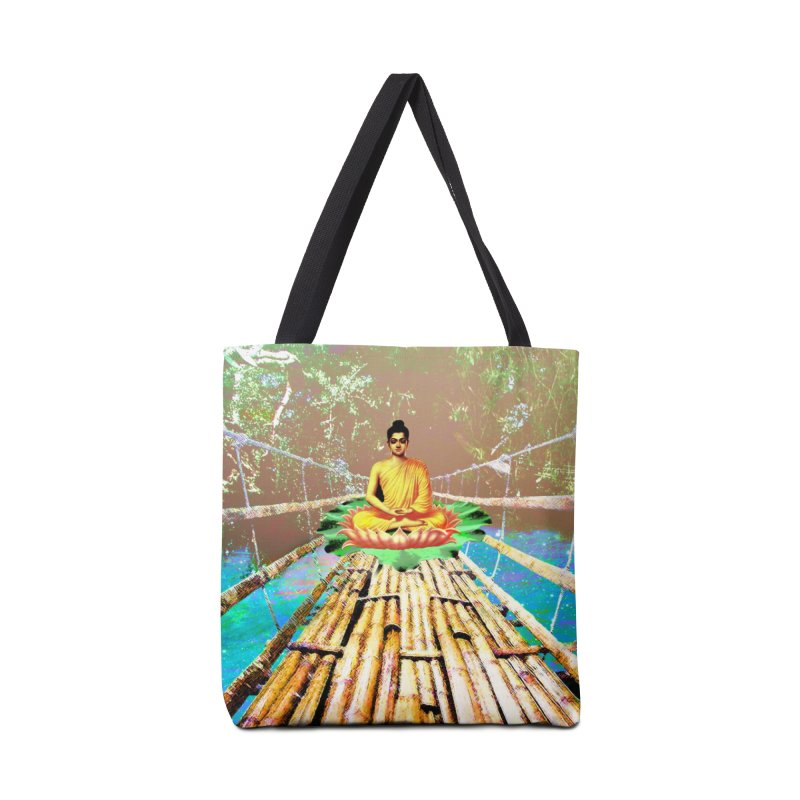 A Bridge to Buddha Accessories Bag by InspiredPsychedelics's Artist Shop