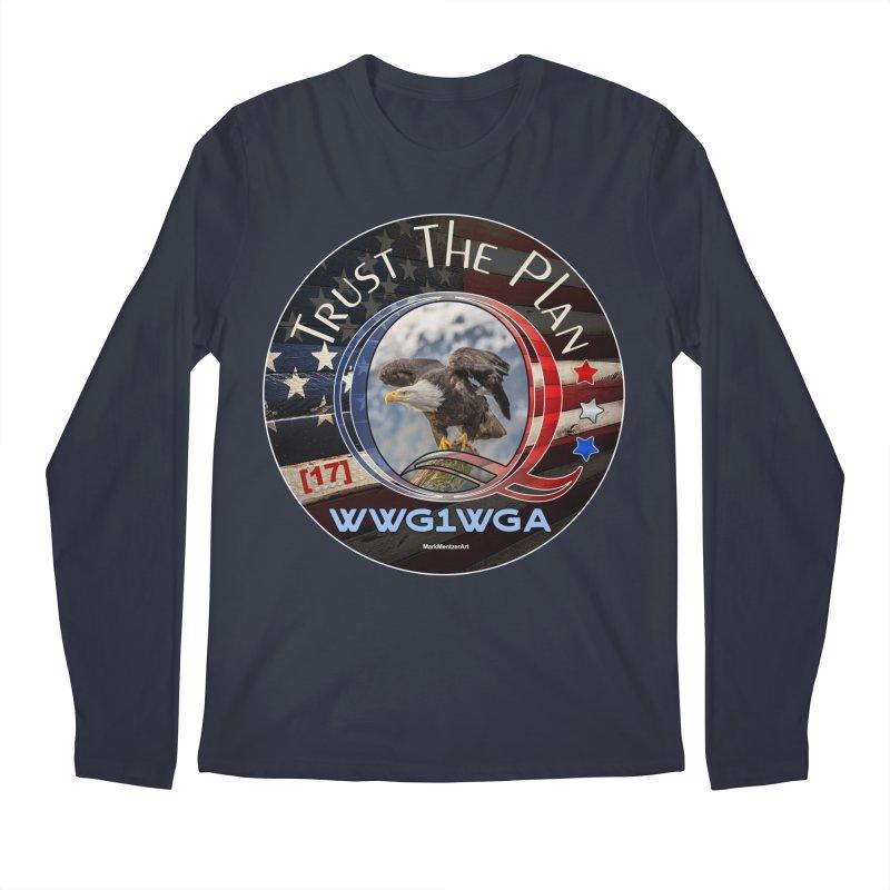 Q, Q-Anon, Trust the Plan, WWG1WGA, [17] Men's Regular Longsleeve T-Shirt by InspiredPsychedelics's Artist Shop