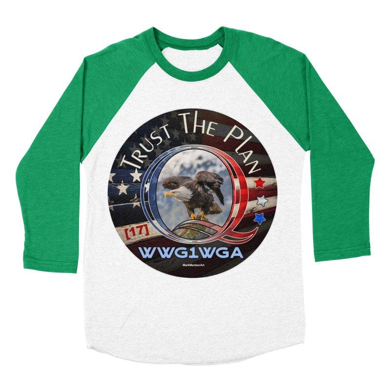 Q, Q-Anon, Trust the Plan, WWG1WGA, [17] Women's Baseball Triblend Longsleeve T-Shirt by InspiredPsychedelics's Artist Shop
