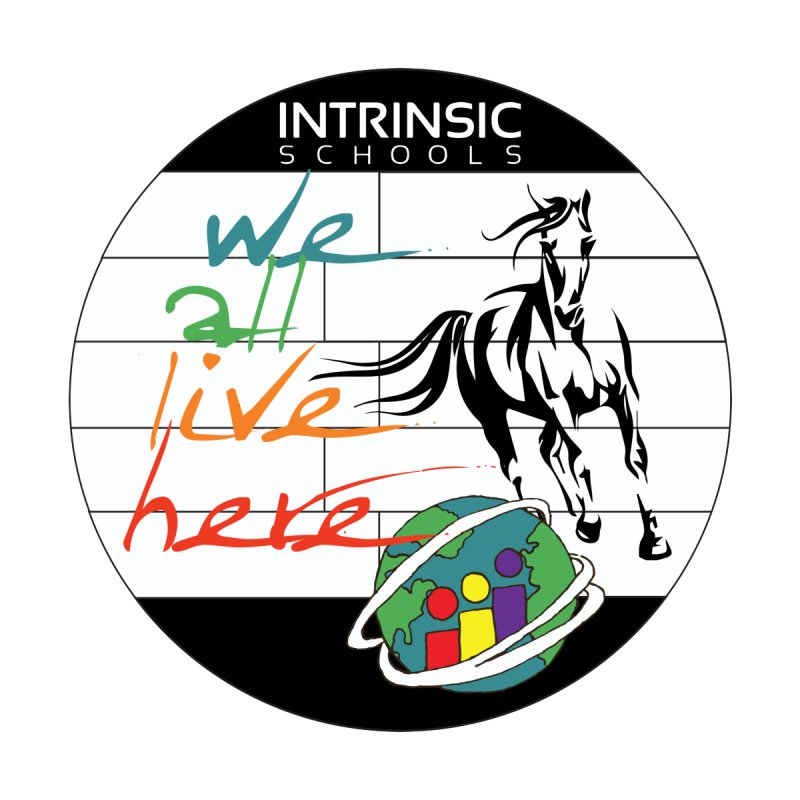 we all live here Logo by Intrinsic Schools - Belmont