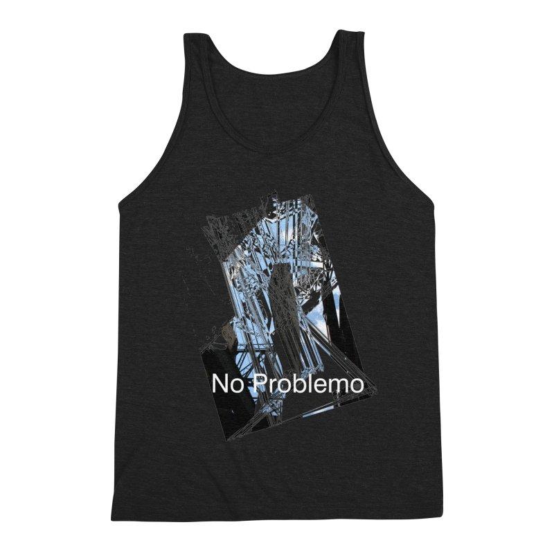 No Problemo Men's Triblend Tank by Irresponsible People Black T-Shirts