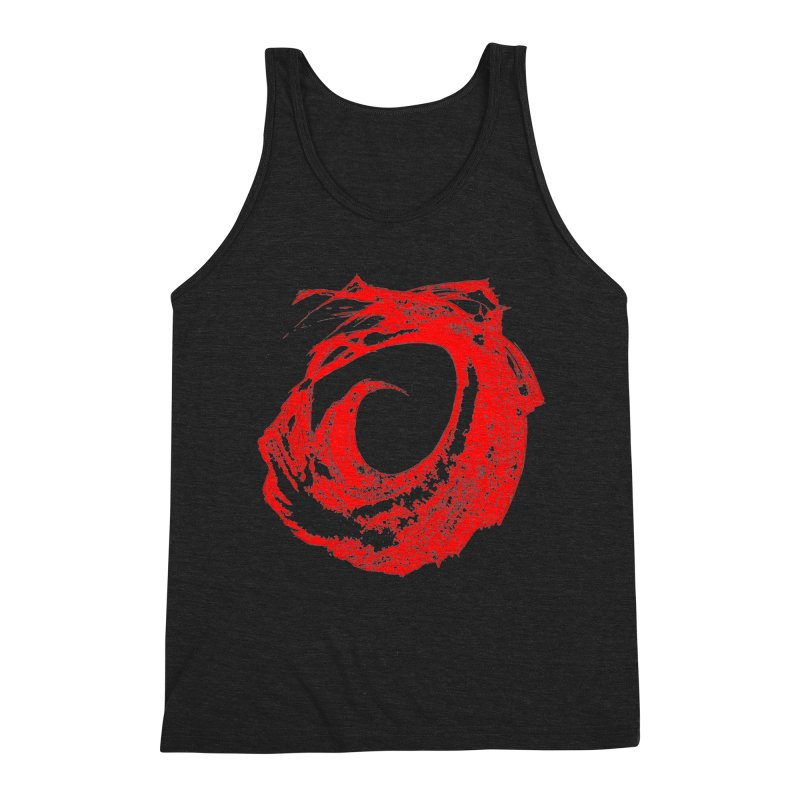Zero G Wave of Fire Men's Triblend Tank by Irresponsible People Black T-Shirts