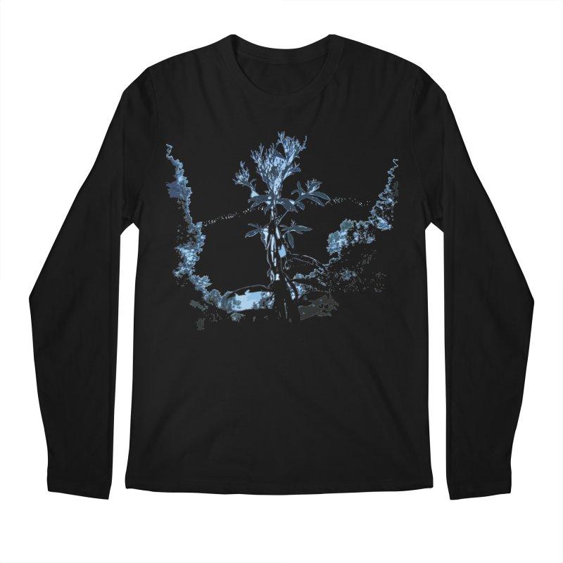 Plants of Mars Men's Regular Longsleeve T-Shirt by Irresponsible People Black T-Shirts