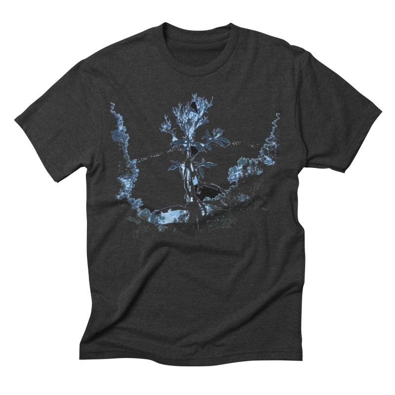 Plants of Mars Men's Triblend T-Shirt by Irresponsible People Black T-Shirts