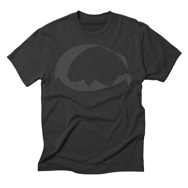 The Great God G Men's Triblend T-Shirt by Irresponsible People Black T-Shirts
