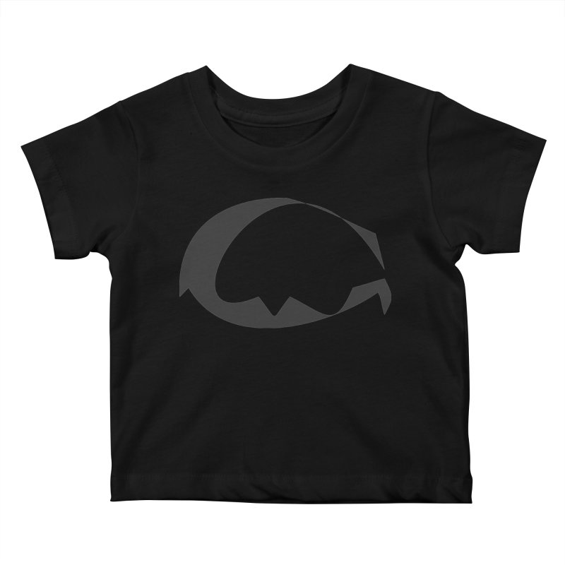 The Great God G Kids Baby T-Shirt by Irresponsible People Black T-Shirts