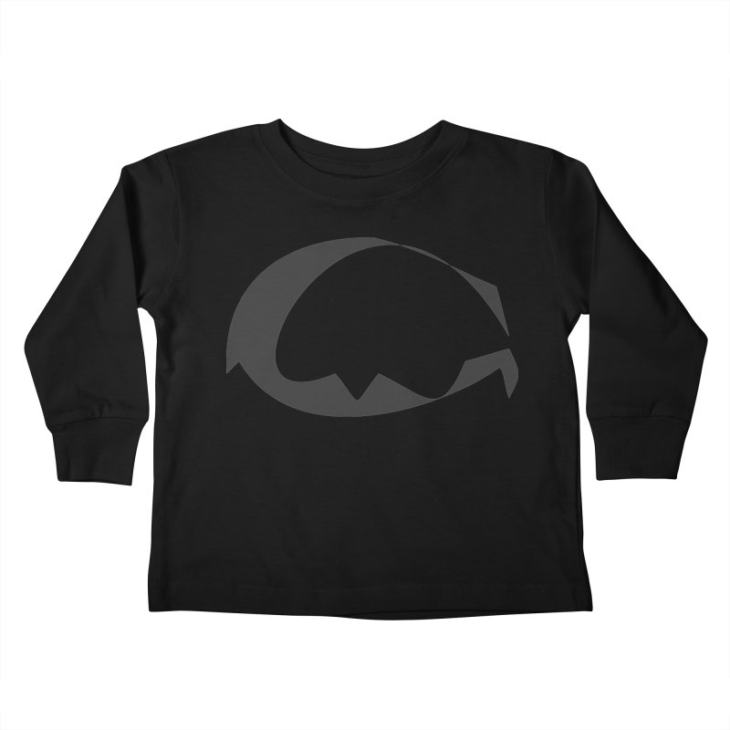 The Great God G Kids Toddler Longsleeve T-Shirt by Irresponsible People Black T-Shirts