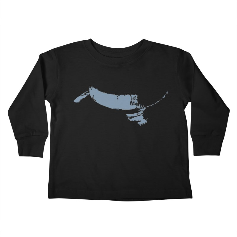 The Smile of Reason Kids Toddler Longsleeve T-Shirt by Irresponsible People Black T-Shirts