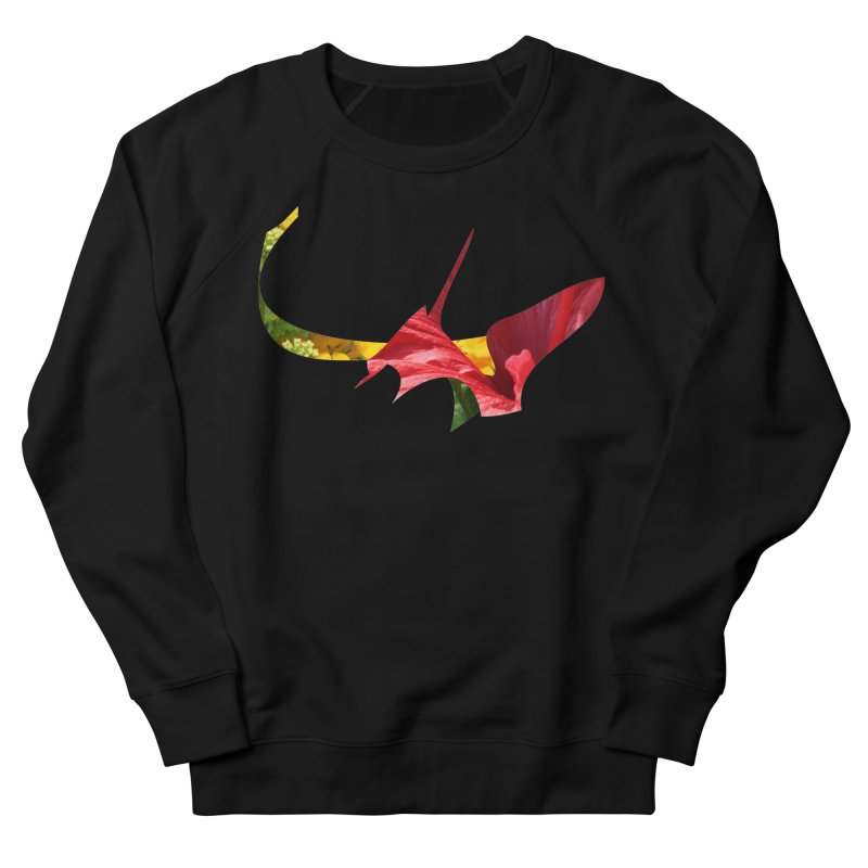 Bird of Prey Women's French Terry Sweatshirt by Irresponsible People Black T-Shirts