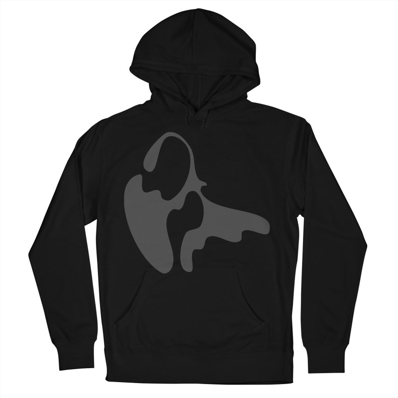 Effervescent Portability Women's French Terry Pullover Hoody by Irresponsible People Black T-Shirts