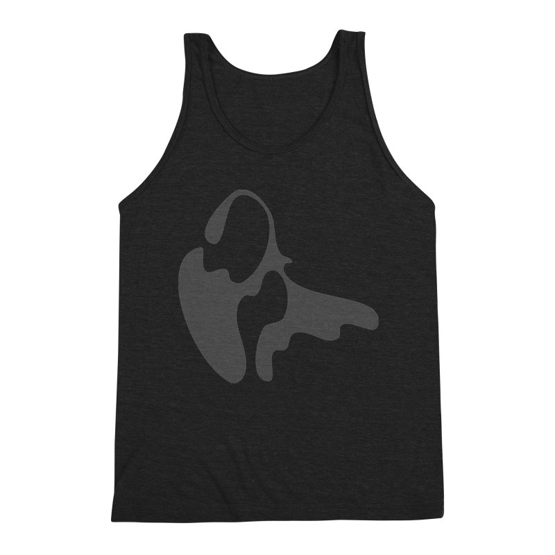 Effervescent Portability Men's Triblend Tank by Irresponsible People Black T-Shirts