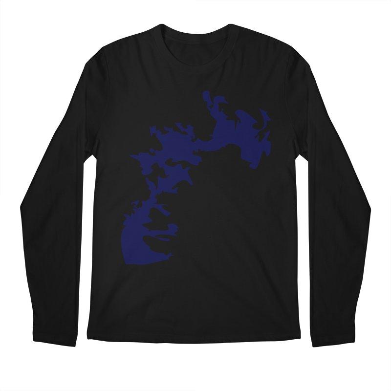Vision of the deep beyond Men's Regular Longsleeve T-Shirt by Irresponsible People Black T-Shirts