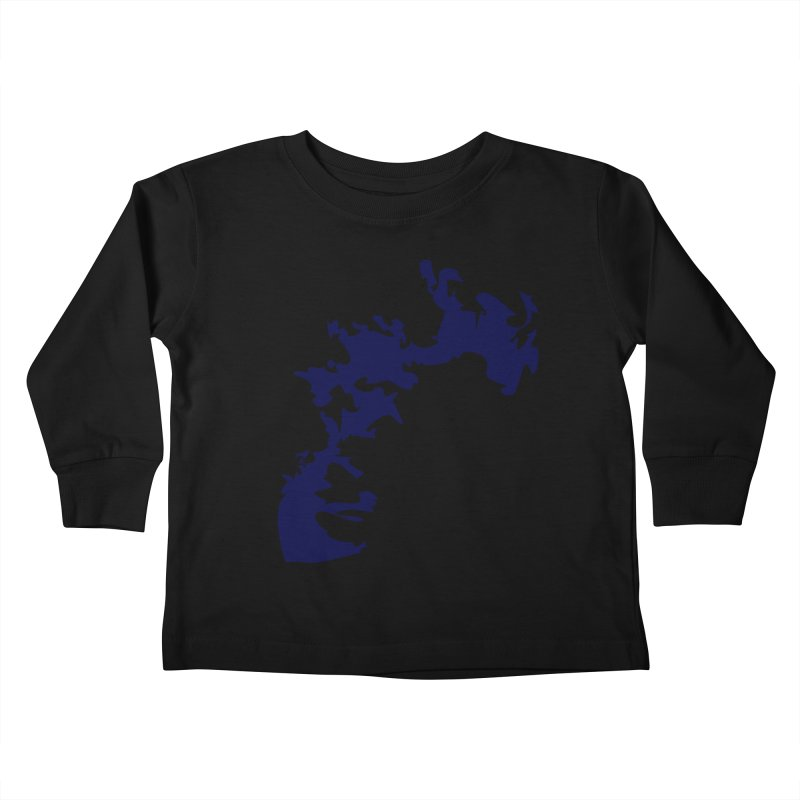 Vision of the deep beyond Kids Toddler Longsleeve T-Shirt by Irresponsible People Black T-Shirts