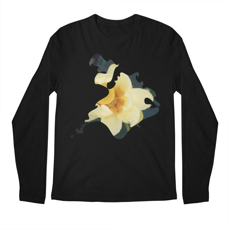 The Thousand Petals Men's Regular Longsleeve T-Shirt by Irresponsible People Black T-Shirts