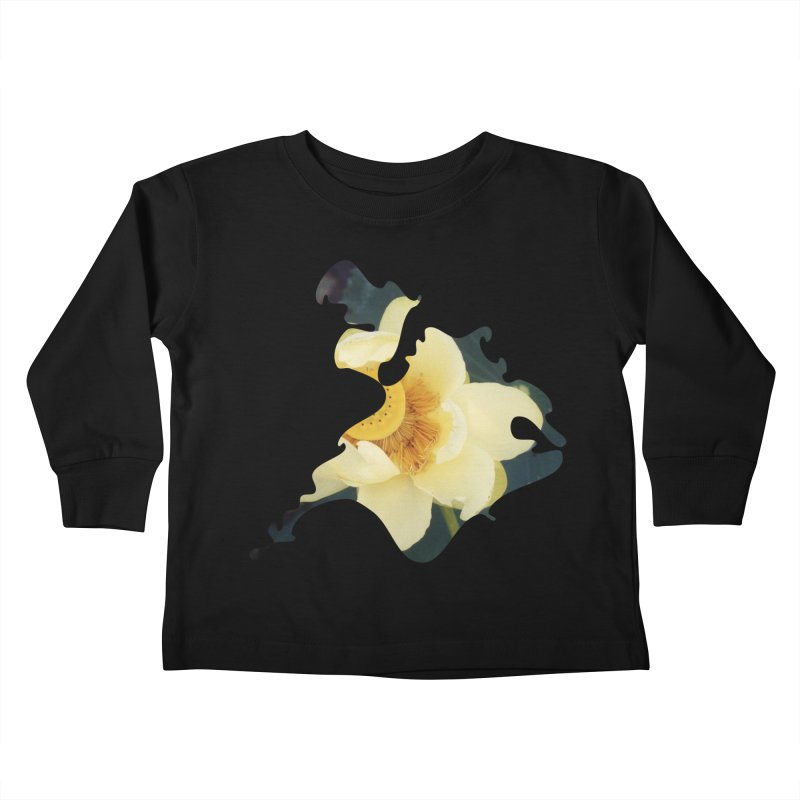 The Thousand Petals Kids Toddler Longsleeve T-Shirt by Irresponsible People Black T-Shirts