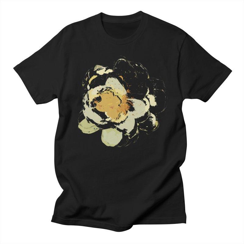 Lotus Slips Sideways Through Time Women's T-Shirt by Irresponsible People Black T-Shirts
