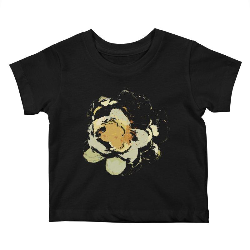 Lotus Slips Sideways Through Time Kids Baby T-Shirt by Irresponsible People Black T-Shirts