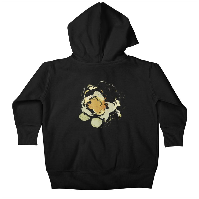 Lotus Slips Sideways Through Time Kids Baby Zip-Up Hoody by Irresponsible People Black T-Shirts