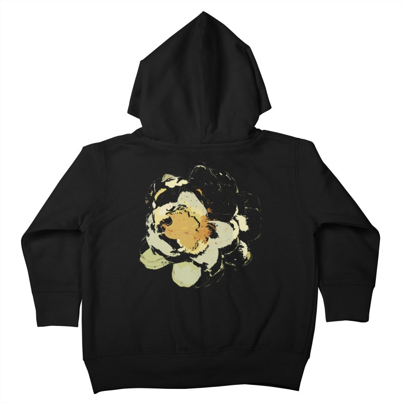 Lotus Slips Sideways Through Time Kids Toddler Zip-Up Hoody by Irresponsible People Black T-Shirts