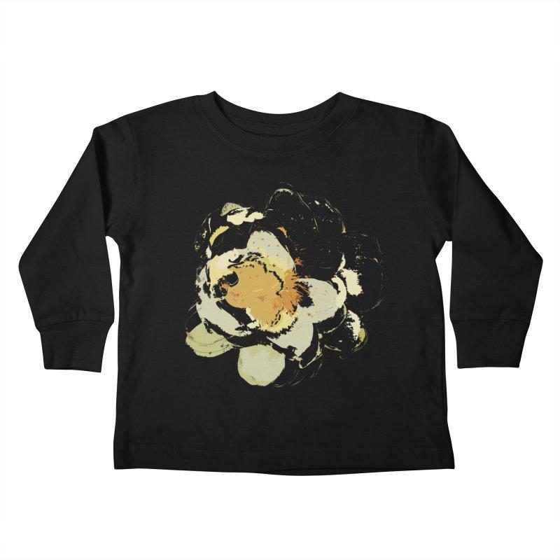 Lotus Slips Sideways Through Time Kids Toddler Longsleeve T-Shirt by Irresponsible People Black T-Shirts