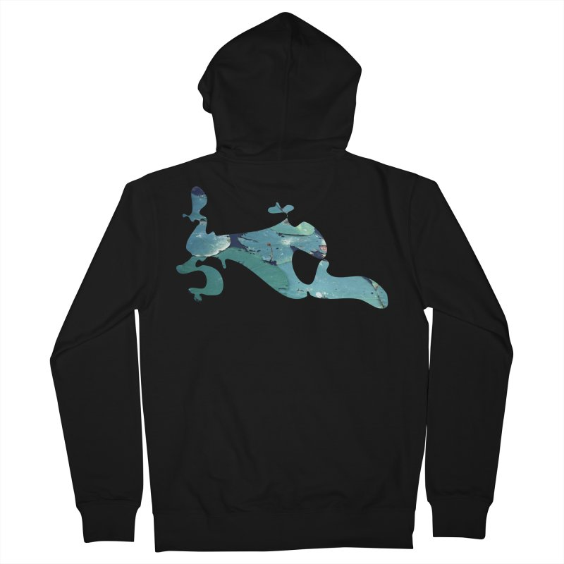 Suspended Above Life Men's Zip-Up Hoody by Irresponsible People Black T-Shirts