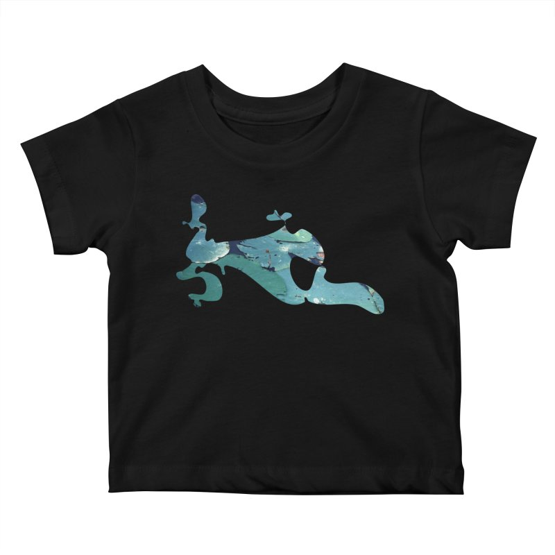 Suspended Above Life Kids Baby T-Shirt by Irresponsible People Black T-Shirts