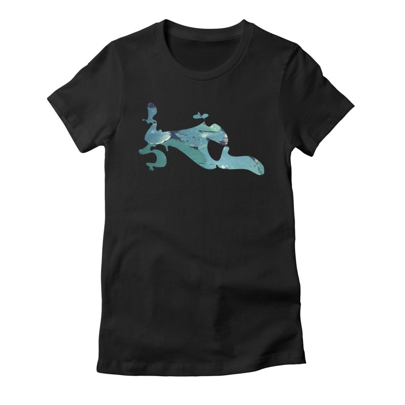 Suspended Above Life Women's T-Shirt by Irresponsible People Black T-Shirts