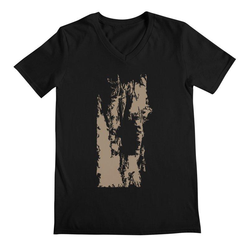 Geologic Explosion Men's V-Neck by Irresponsible People Black T-Shirts