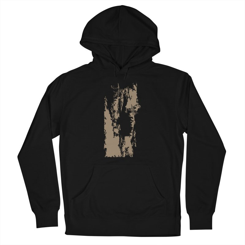 Geologic Explosion Women's French Terry Pullover Hoody by Irresponsible People Black T-Shirts